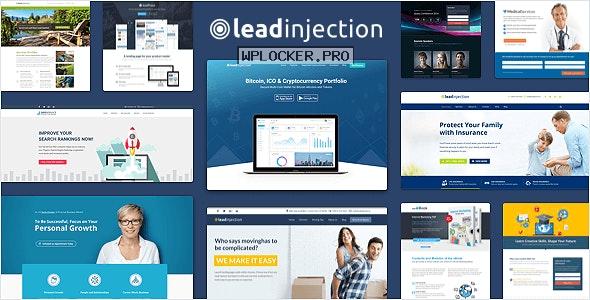Leadinjection v2.3.14 – Landing Page Theme