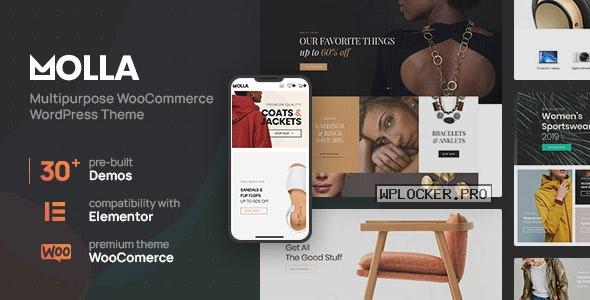Molla v1.2.11 – Multi-Purpose WooCommerce Theme