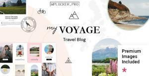 MyVoyage v1.0 – Travel Blog WordPress Theme