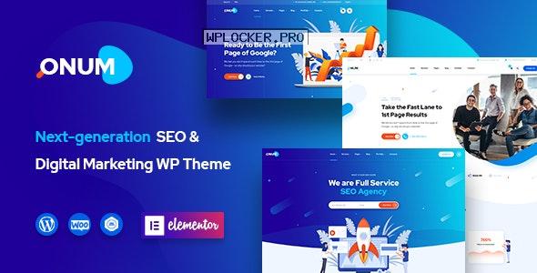 Onum v1.2.6 – SEO & Marketing Elementor WordPress Theme