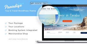 Paradize v2.2.4 – WordPress Tour/Travel Theme