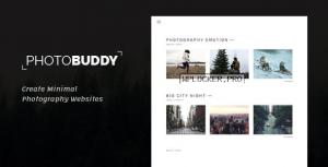PhotoBuddy v1.0.3 – Photography WordPress Theme