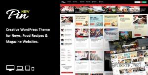 Pin v5.6 – Pinterest Style / Personal Masonry Theme