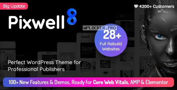 Pixwell v8.0 – Modern Magazine