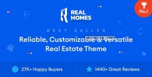 Real Homes v3.14.1 – WordPress Real Estate Theme