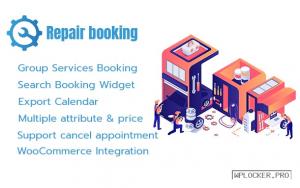 Repair Booking v1.24 – WordPress booking system for repair service industries