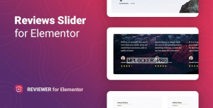 Reviewer v1.0 – Reviews Slider for Elementor