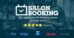 Salon Booking v6.5.1 – WordPress Plugin