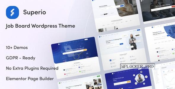 Superio v1.1.3 – Job Board WordPress Theme