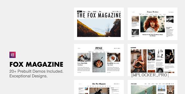 The Fox v4.6.9.1 – Minimal WordPress Blog Magazine Theme