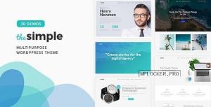 The Simple v2.7.2 – Business WordPress Theme
