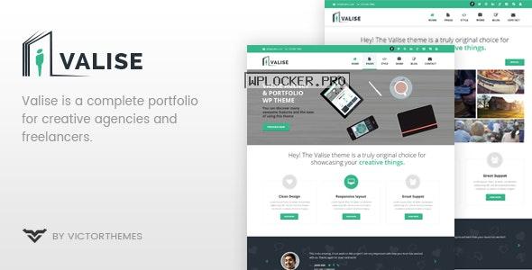 Valise v3.5 – Agency / Personal Portfolio Theme