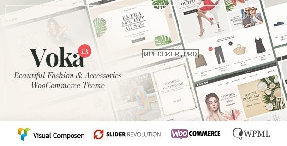 Voka v2.2.0 – Fashion Cosmetic & Accessories WooCommerce Theme