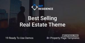 WP Residence v3.9.1 – Real Estate WordPress Theme