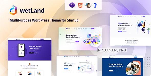 Wetland v1.0.2 – MultiPurpose WordPress Theme for Startup