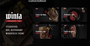 Winta v1.0 – Steakhouse Restaurant WordPress Theme