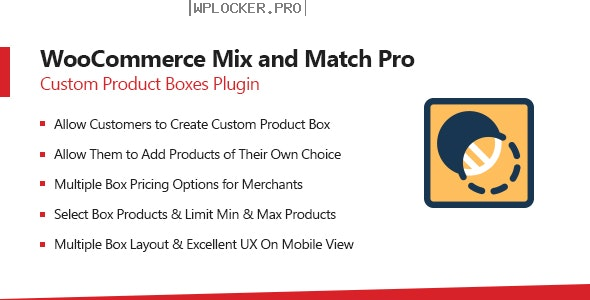WooCommerce Mix & Match v1.3.7 – Custom Product Boxes Bundles