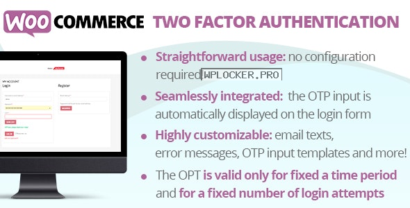 WooCommerce Two Factor Authentication v1.3
