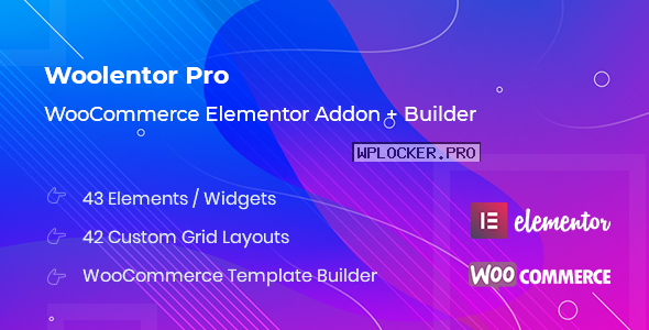 WooLentor Pro v1.6.8 – WooCommerce Elementor Addons
