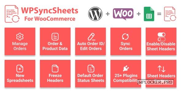 WooSheets v5.8 – Manage WooCommerce Orders with Google Spreadsheet