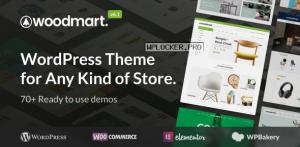 WoodMart v6.1.4 – Responsive WooCommerce WordPress Theme NULLED