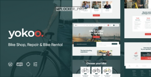 Yokoo v1.0.1 – Bike Shop & Rental WordPress Theme