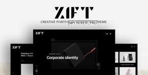 Zift v1.0.0 – Creative WordPress Portfolio