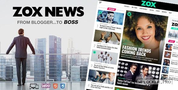Zox News v3.10.0 – Professional WordPress News