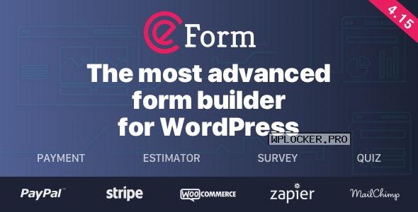 eForm v4.15.1 – WordPress Form Builder NULLED