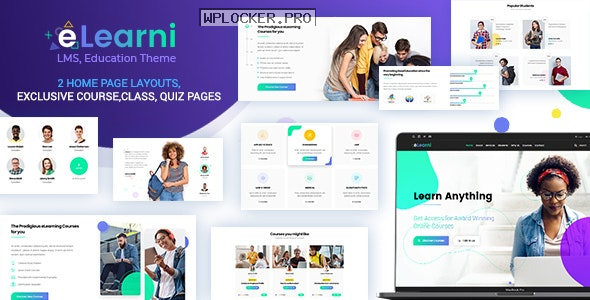 eLearni v2.2 – Online Learning & Education LMS