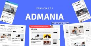 Admania v2.5.1 – AD Optimized WordPress Theme