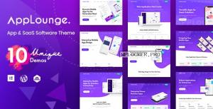 AppLounge v1.1.4 – Multipurpose SaaS WordPress Theme