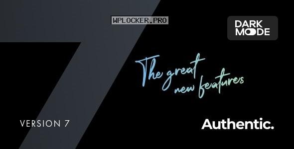 Authentic v7.0.3 – Lifestyle Blog & Magazine Theme