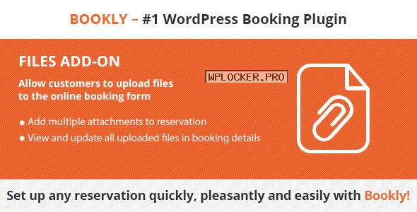 Bookly Files (Add-on) v2.7
