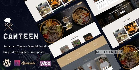 Canteen v1.0.6 – Restaurant WordPress Theme