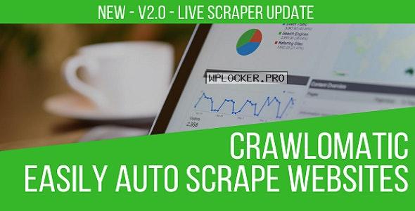 Crawlomatic v2.3.4.1 – Multisite Scraper Post Generator Plugin for WordPress NULLED