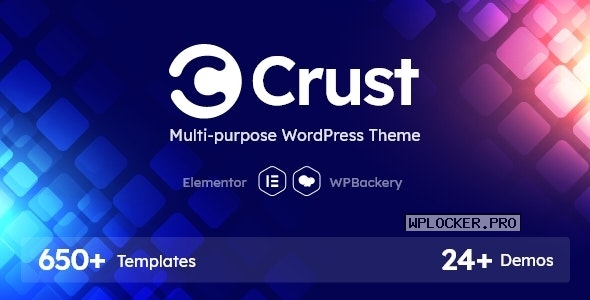 Crust v1.0.1 – Multipurpose WordPress Theme