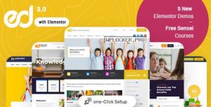 Ed School v3.9.0 – Education WordPress Theme
