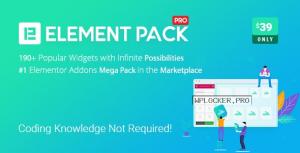 Element Pack v5.10.0 – Addon for Elementor Page Builder NULLED