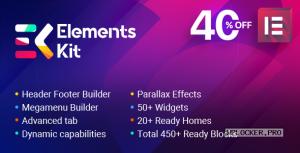 ElementsKit v2.3.5 – The Ultimate Addons for Elementor Page Builder NULLED