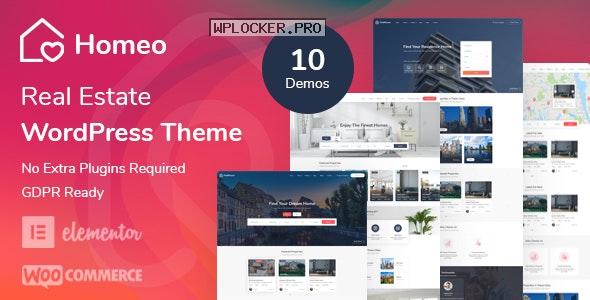 Homeo v1.2.19 – Real Estate WordPress Theme