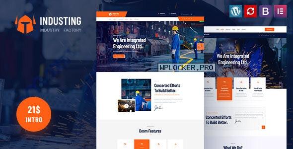 Industing v1.0 – Factory & Business WordPress Theme
