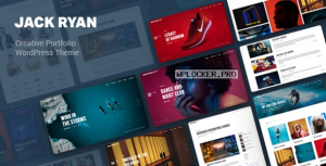 Jack Ryan v1.0.2 – Creative Portfolio WordPress Theme