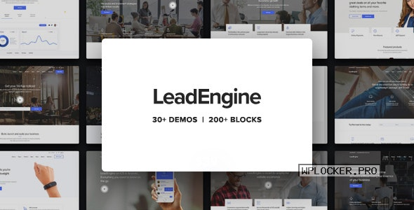 LeadEngine v3.1 – Multi-Purpose Theme with Page Builder