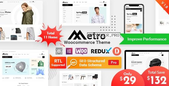 Metro v1.8.8 – Minimal WooCommerce WordPress Theme