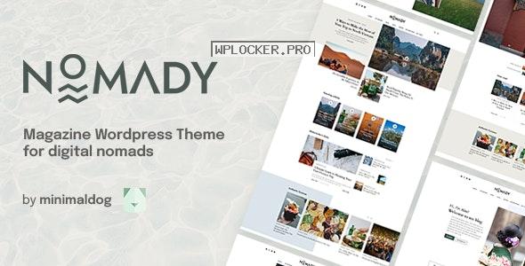 Nomady v1.1.5 – Magazine Theme for Digital Nomads