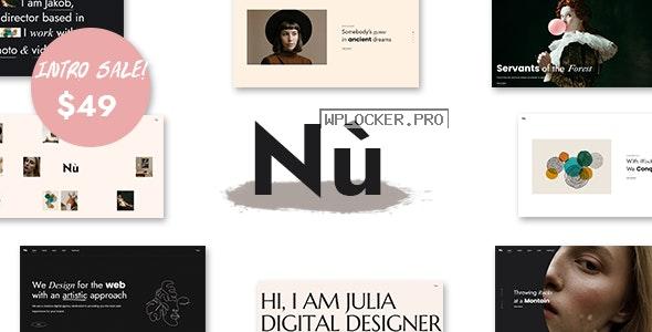 Nù v1.0.0 – Creative Portfolio WordPress Theme