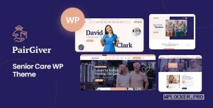 PairGiver v1.0 – Senior Care WordPress Theme