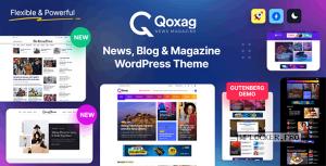 Qoxag v1.0.8 – WordPress News Magazine Theme