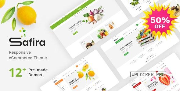 Safira v1.1.3 – Food & Organic WooCommerce WordPress Theme